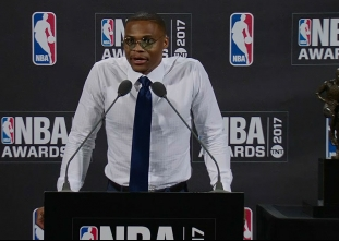 2017 NBA Awards: Russell Westbrook Press Conference