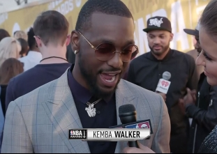 2017 NBA Awards Red Carpet: Kemba Walker