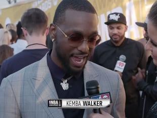 2017 NBA Awards Red Carpet: Kemba Walker
