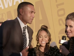 NBA Awards Red Carpet: Grant and Tamia Hill