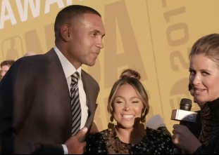 2017 NBA Awards Red Carpet: Grant and Tamia Hill