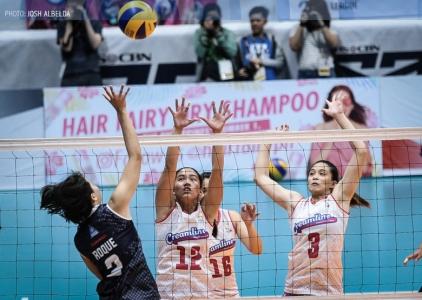 WATCH! Jia Morado's drop-ball claims another victim