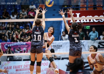 WATCH! The first Jia Morado-Alyssa Valdez connection in PVL