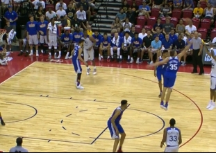 Patrick McCaw scores 25 points vs the 76ers