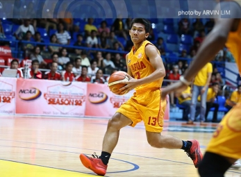 WATCH: Almel Orquina banks in the tough contested three