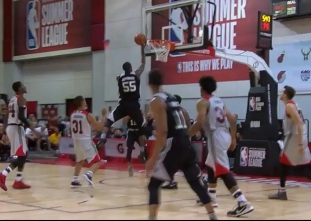 Bryn Forbes scores 35 points vs the Trail Blazers