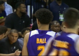 Lonzo Ball posts second straight triple-double