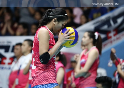 WATCH: Alyssa Valdez flies from the back row for the hammer!