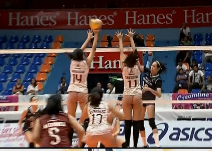 PREMIER VOLLEYBALL LEAGUE: UP vs Adu (S3)