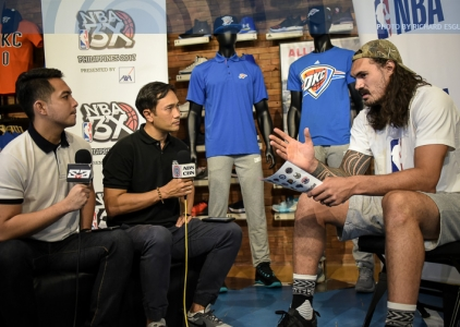 The Score: Steven Adams of the Oklahoma City Thunder