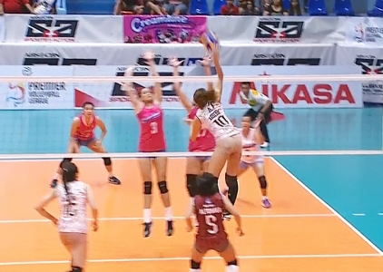 PREMIER VOLLEYBALL LEAGUE: UP vs CRL (S2)