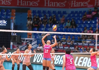 PREMIER VOLLEYBALL LEAGUE: UP vs CRL (S3)