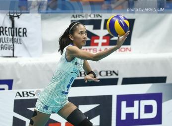 WATCH: Jasmine Nabor scores with the smart push