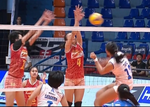PREMIER VOLLEYBALL LEAGUE: PAF vs PSM (S2)