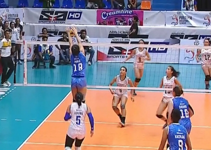 PREMIER VOLLEYBALL LEAGUE: AdU vs POC (S1)
