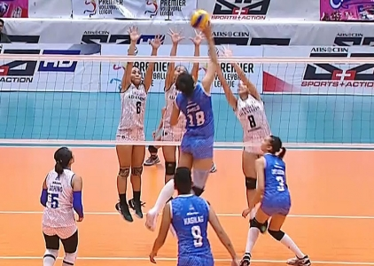 PREMIER VOLLEYBALL LEAGUE: AdU vs POC (S3)