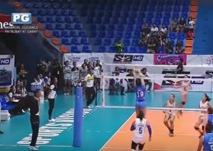 Myla Pablo with a ruthless rejection against the Lady Falcon