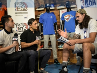 The Score: One on one with Steven Adams