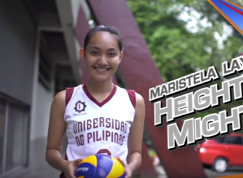 UP's Maristela Layug can do it all, on and off the court