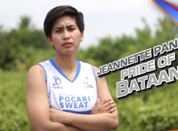 The Great Wall of Bataan: Lady Warrior Jeanette Panaga