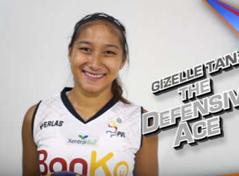 Gizelle Tan brings her defensive intensity to the Spikers