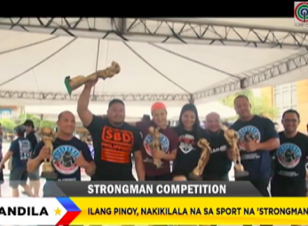 Bandila: 'Strongman', unti-unting nakikilala sa Pilipinas