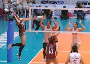 PREMIER VOLLEYBALL LEAGUE: PSM vs UP (S5)