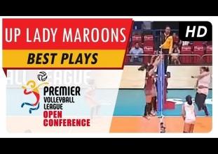 PVL Highlights: Lady Maroons' incredible defensive display