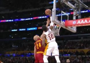 Top 10 plays of the 2016-17 season: LA Lakers