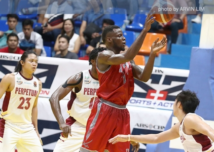 WATCH: Mike Harry Nzeusseu THROWS IT DOWN!