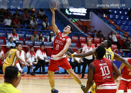WATCH: Robert Bolick goes coast-to-coast to beat the buzzer
