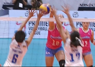 PREMIER VOLLEYBALL LEAGUE GAME HIGHLIGHTS: CCS vs PAF