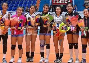 PVL OPEN CONFERENCE: SPECIAL AWARDS WOMEN'S DIVISON