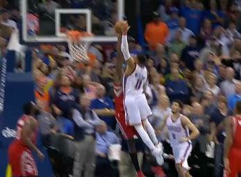 Top 10 plays of the 2016-17 season: Russell Westbrook