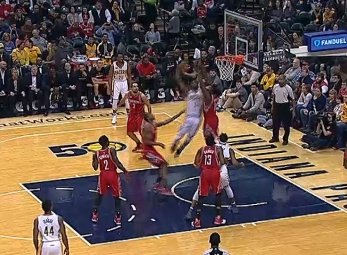 Top 10 plays of the 2016-17 season: Indiana Pacers