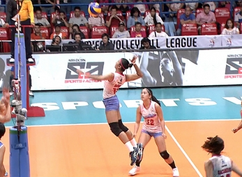 PVL BATTLE FOR THIRD GAME 2 : PAF vs CCS (S2)