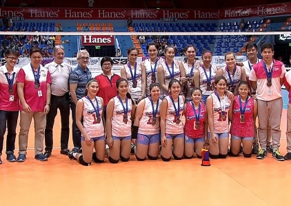 PVL OPEN CONFERENCE SPECIAL AWARDS: SECOND RUNNER UP