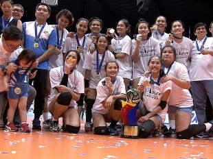 PVL OPEN CONFERENCE AWARDS: CHAMPION | FIRST RUNNER UP