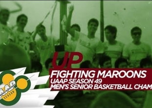 WATCH! Revisit UP's 1st men's basketball title back in 1986