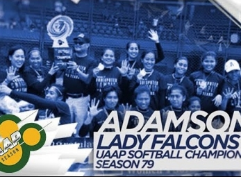 WATCH! Adamson University's DOMINANT softball squad