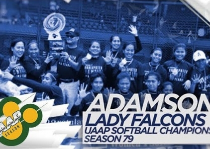 WATCH! Adamson University's DOMINANT softball squad