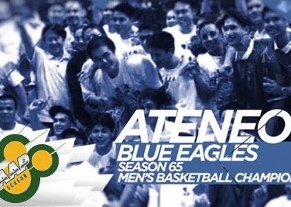 WATCH! Ateneo Blue Eagles' stunner back in season 65