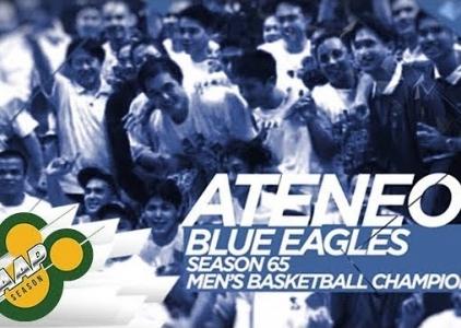 WATCH! Ateneo Blue Eagles' stunner back in season 65