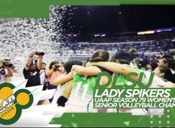 WATCH! DLSU's legendary volleyball team, the Lady Spikers