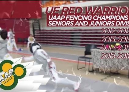 WATCH! UE's fencing virtuosi