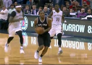 Top 25 plays of the 2016-17 season: San Antonio Spurs