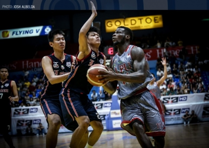 WATCH: Mike Harry Nzeusseu dominant sequence for Lyceum