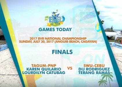 BVR: TAGUM-PNP vs. SWU-CEBU | Women's Finals | Set 1