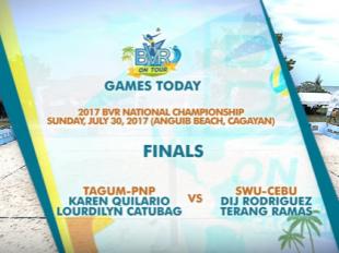 BVR: TAGUM-PNP vs. SWU-CEBU | Women's Finals | Set 1