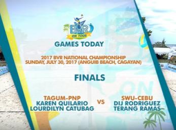 BVR: TAGUM-PNP vs. SWU-CEBU | Women's Finals | Set 2